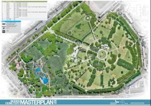 Woden cemetery masterplan