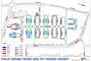Expanded Paid Parking Plan for the Phillip Service Trades Area