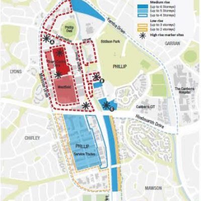 Woden Master Plan - Building Heights