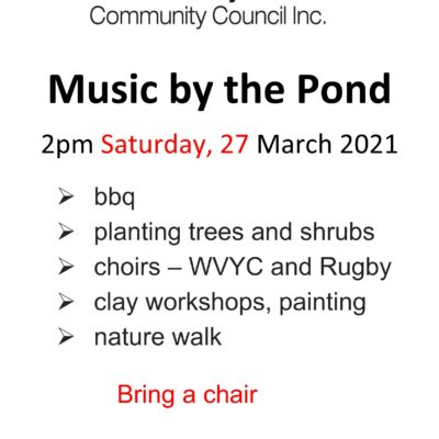 Music by the Pond